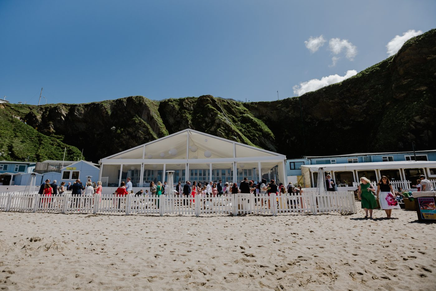 Lusty Glaze Beach Weddings Wedding Venue