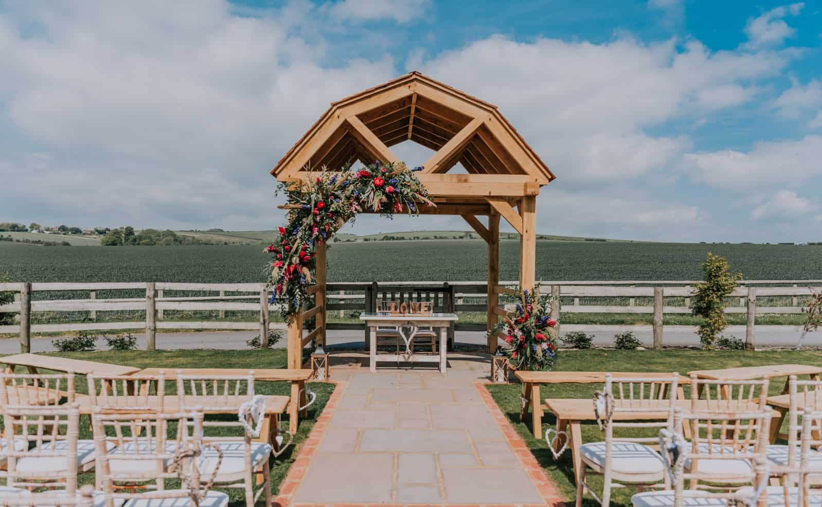 Long Furlong Barn Wedding Venue