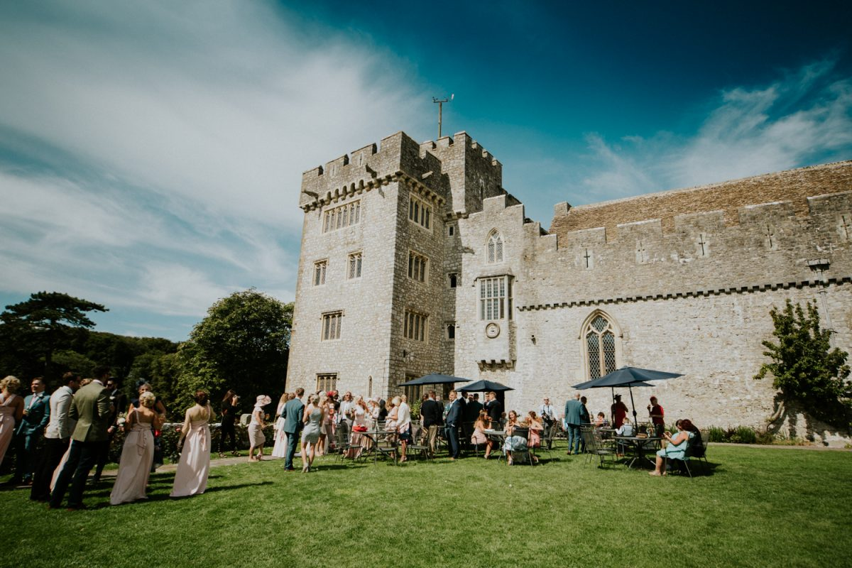 St Donat's Castle Wedding Venue