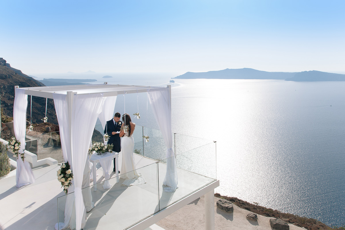 Rocabella Santorini Wedding Venue