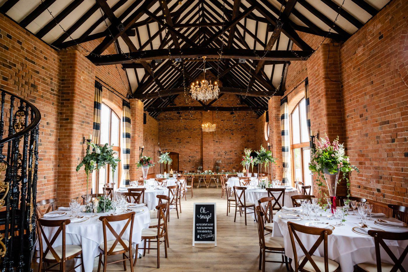 The Barn at Stratford Park Wedding Venue