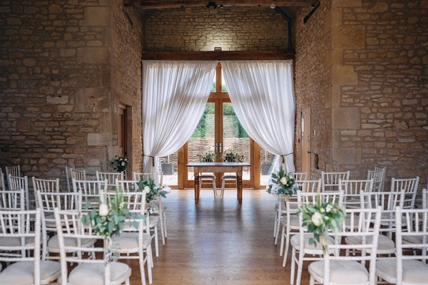 The Barn at Upcote Wedding Venue