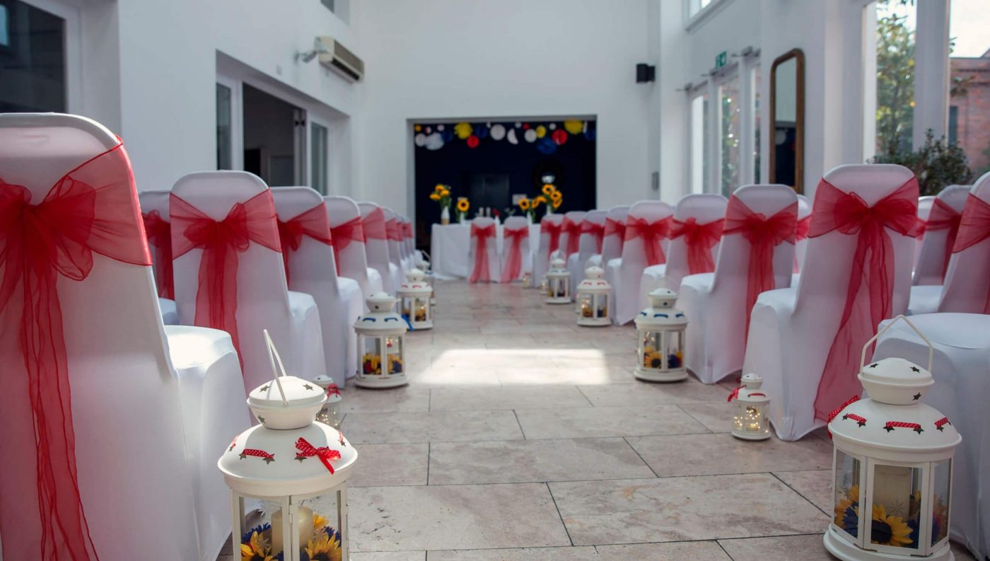 Fazeley Studios Wedding Venue