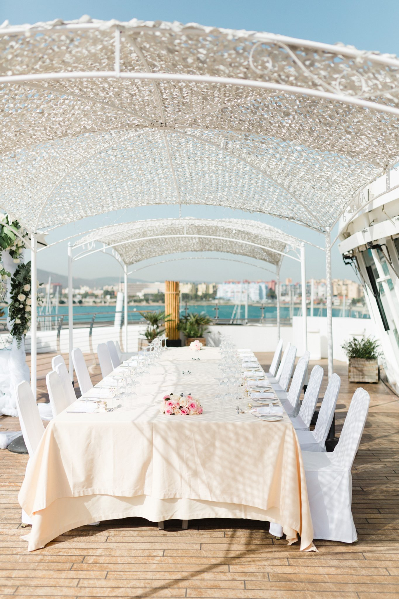 Sunborn Yacht Hotel Wedding Venue