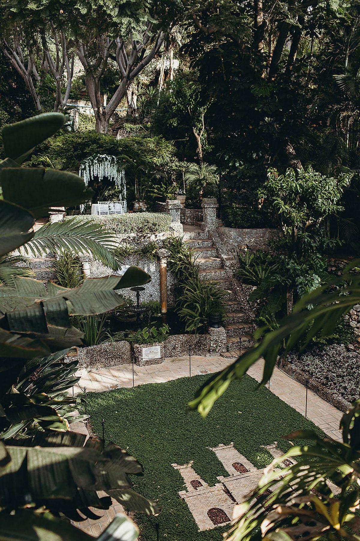 Gibraltar Botanic Gardens Wedding Venue