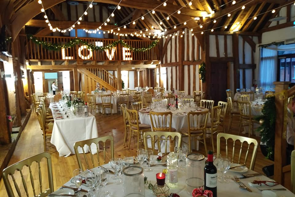 The Tudor Barn, Burnham Wedding Venue