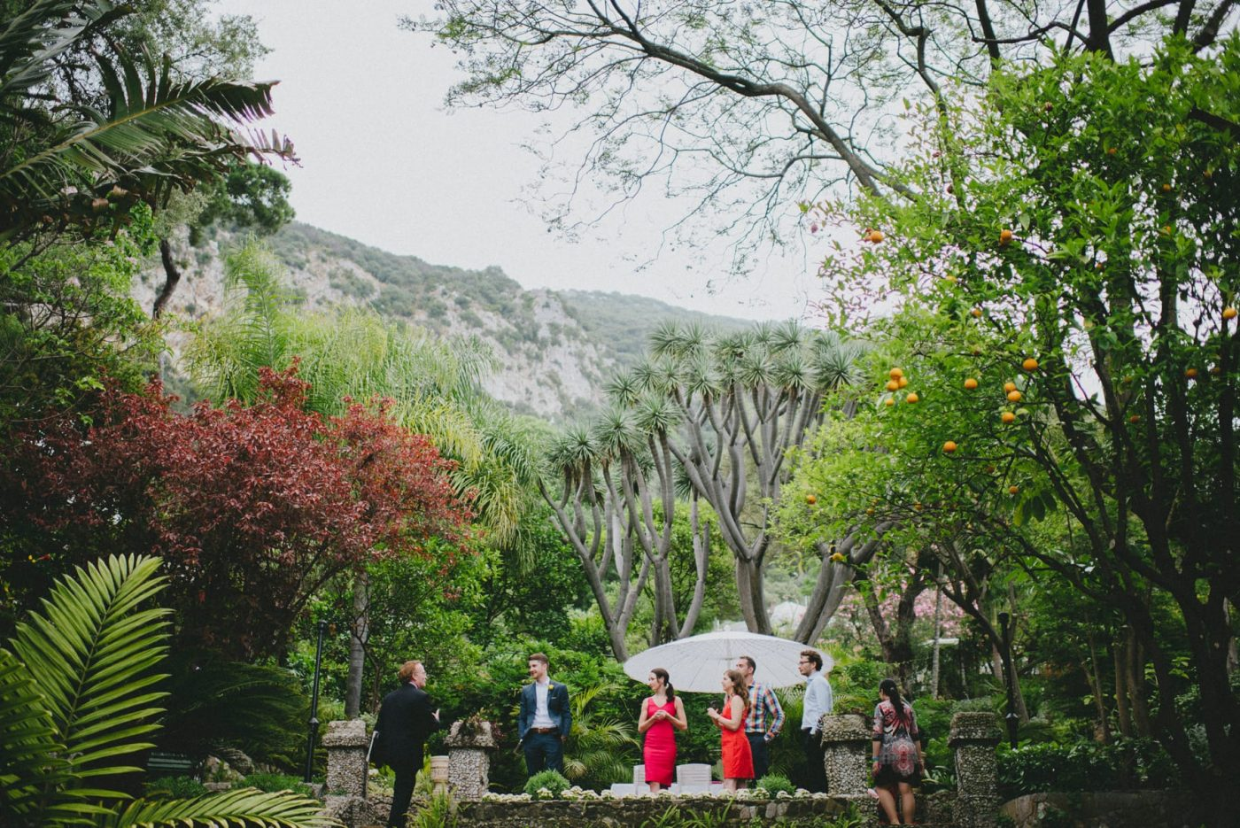 Gibraltar Botanic Gardens Wedding Venue