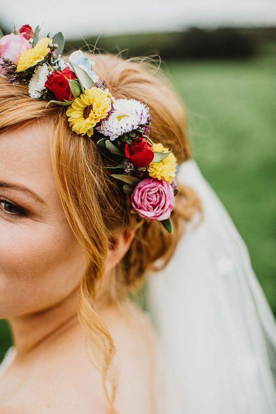 Festival Floral Headband