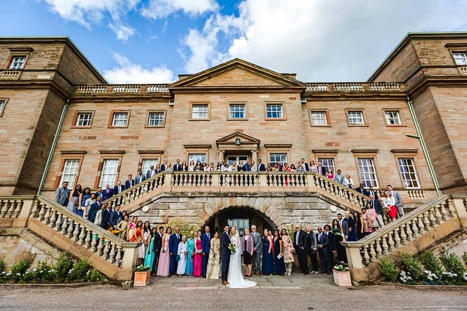 Hagley Hall Wedding Venue