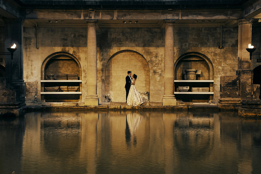 Roman Baths and Pump Room Wedding Venue