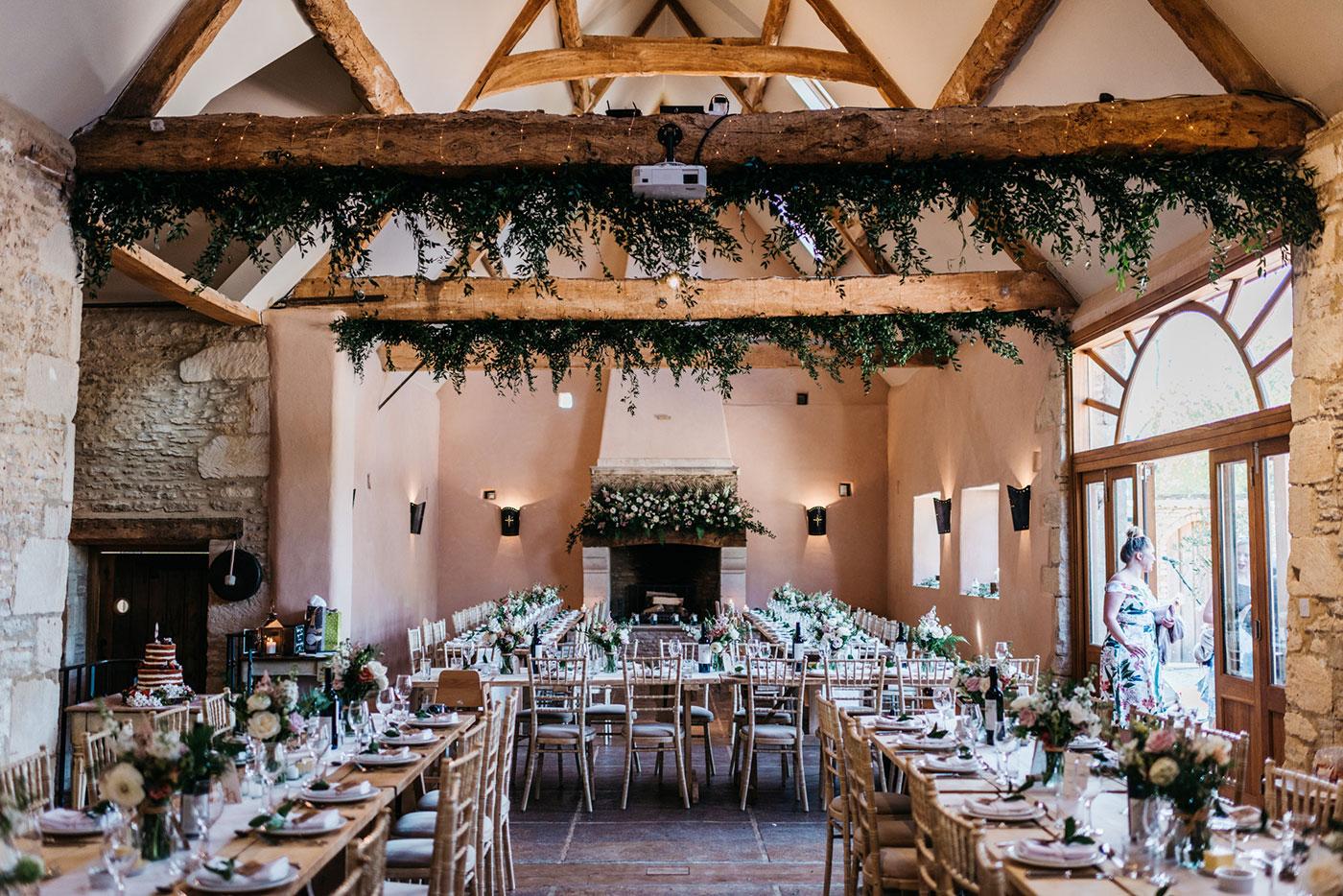 Oxleaze Barn Wedding Venue