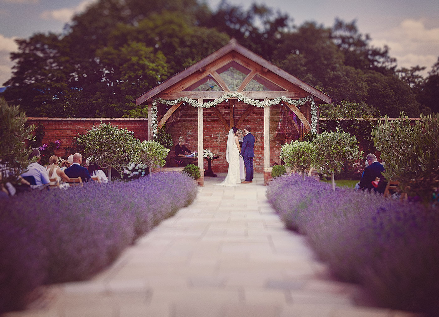 Upton Barn & Walled Garden Wedding Venue