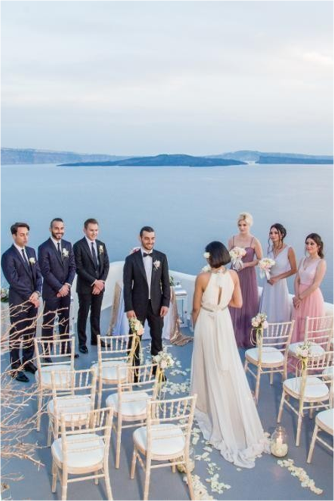 Canaves Oia Suites Wedding Venue