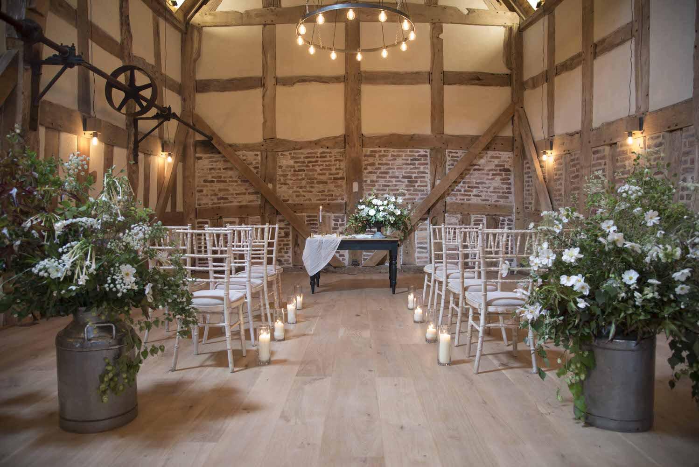 Barns and Yard Wedding Venue