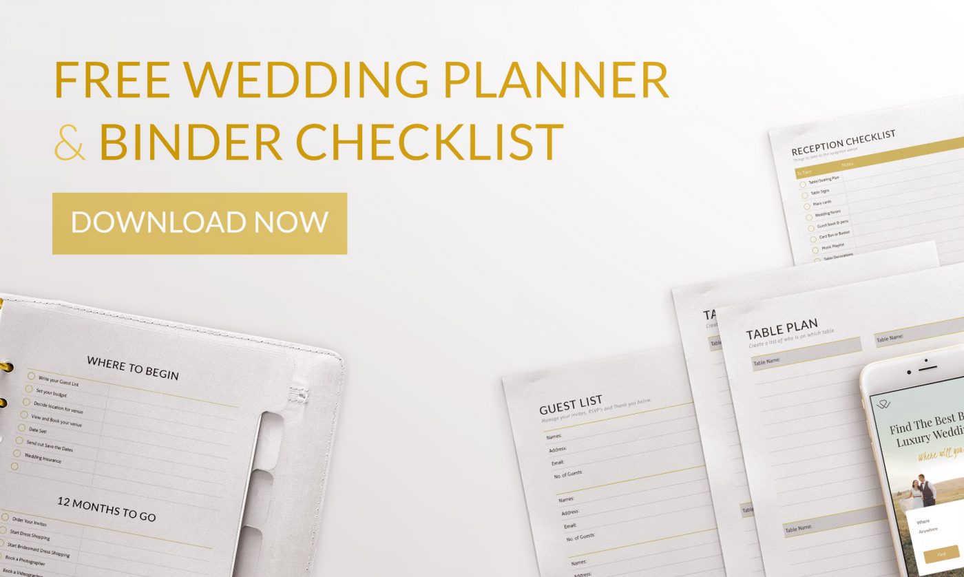 Ultimate Free Printable Wedding Planning Checklist Binder Templates