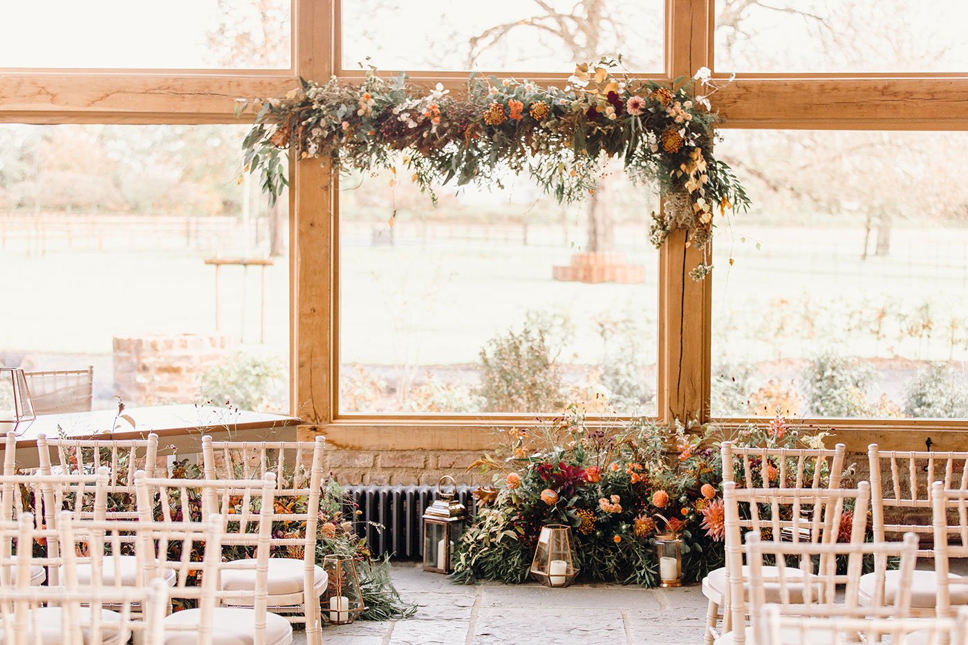 Barns & Yard Wedding Venue