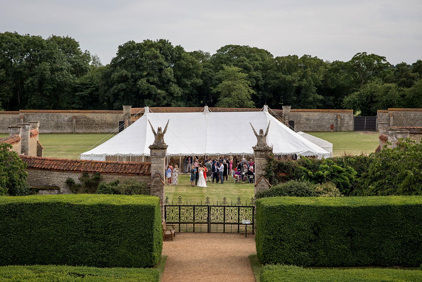 Castle Ashby Walled Garden Wedding Venue