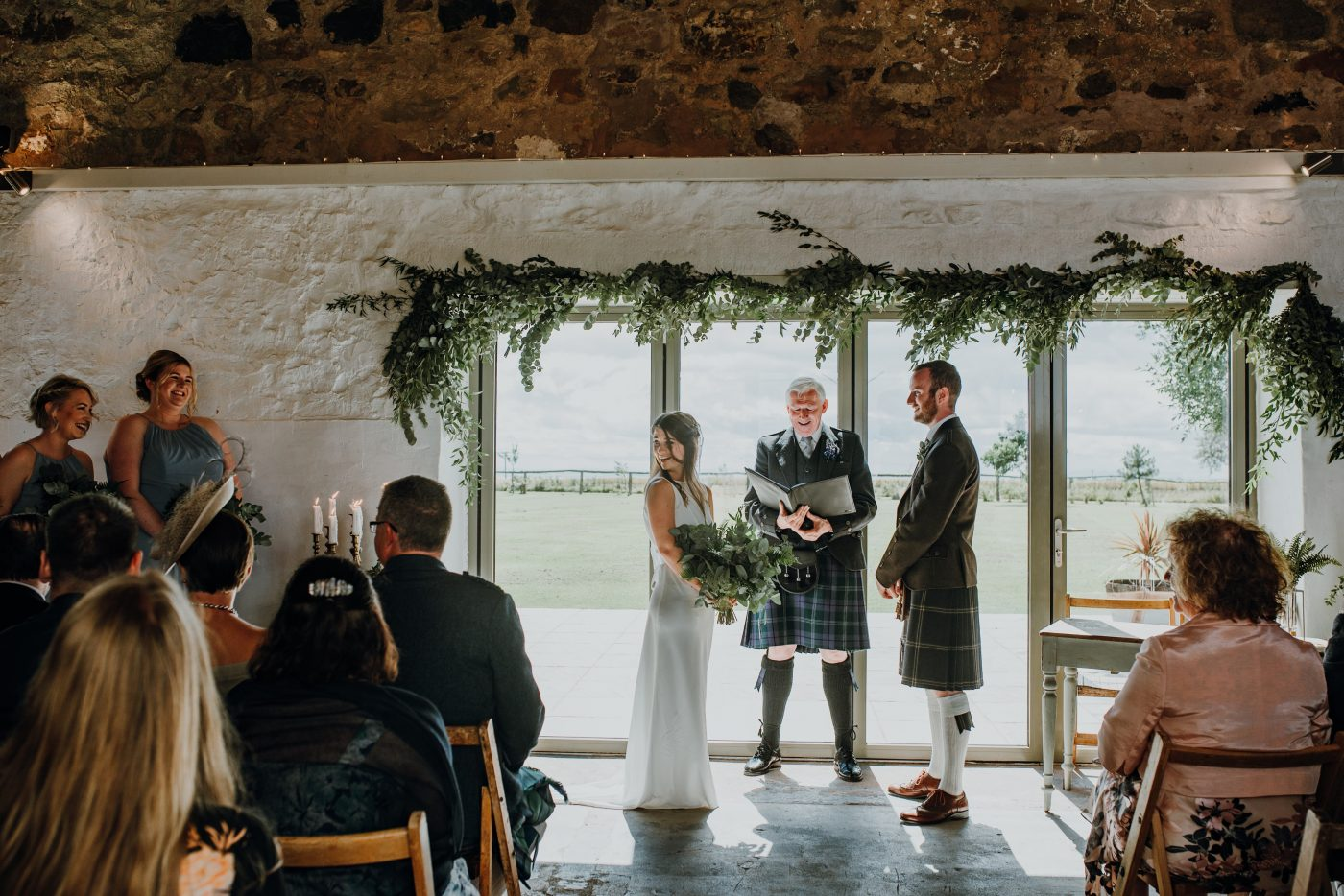 The Cow Shed, Crail Wedding Venue