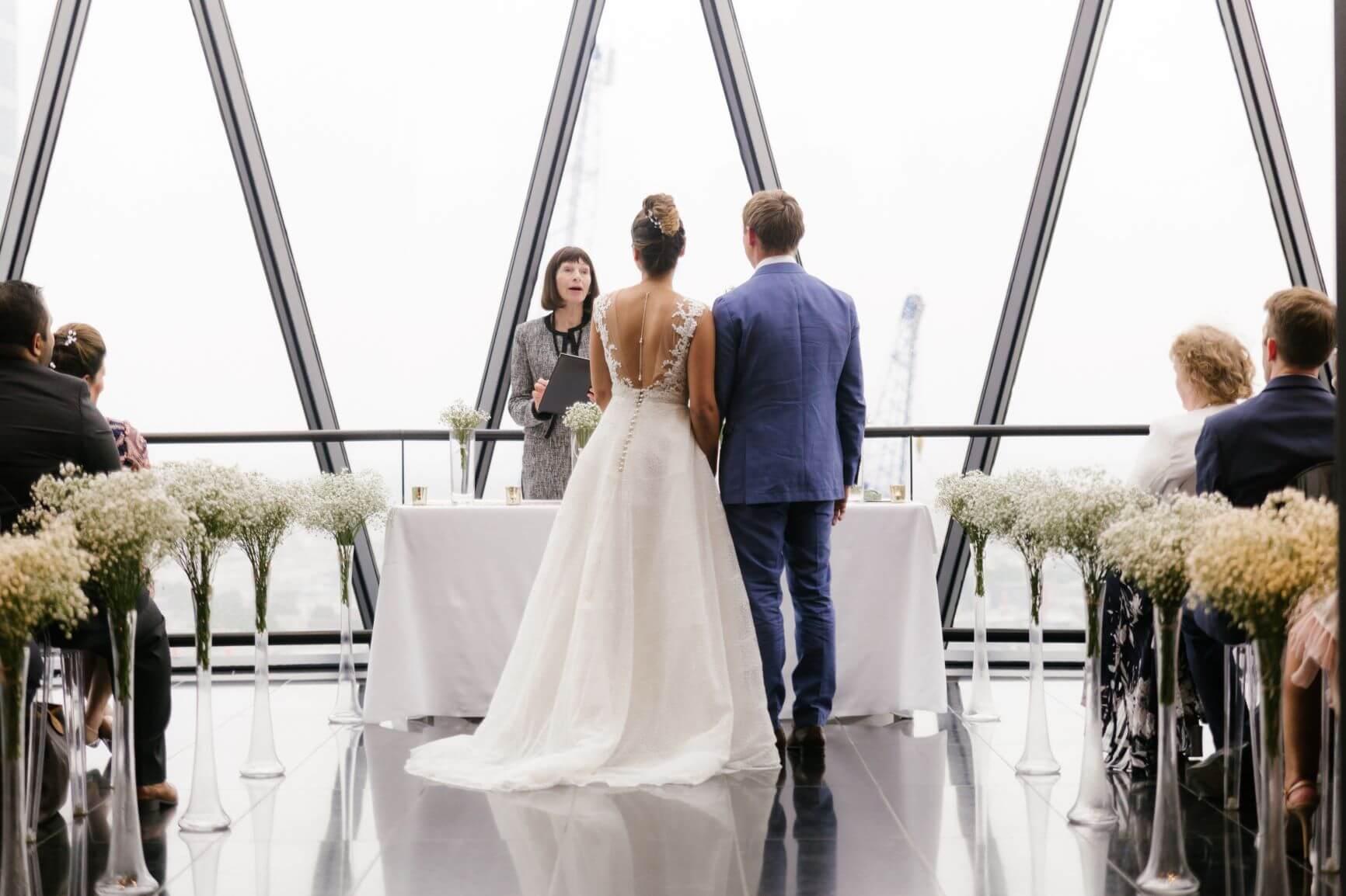 Searcys at The Gherkin Wedding Venue
