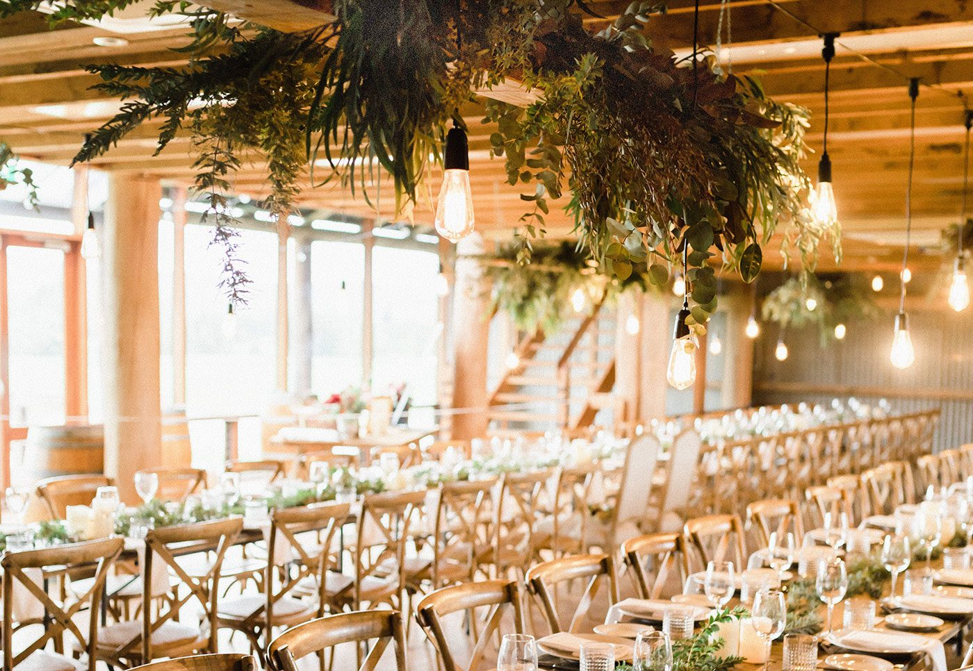 How to Decorate the Ceiling of your Wedding Venue