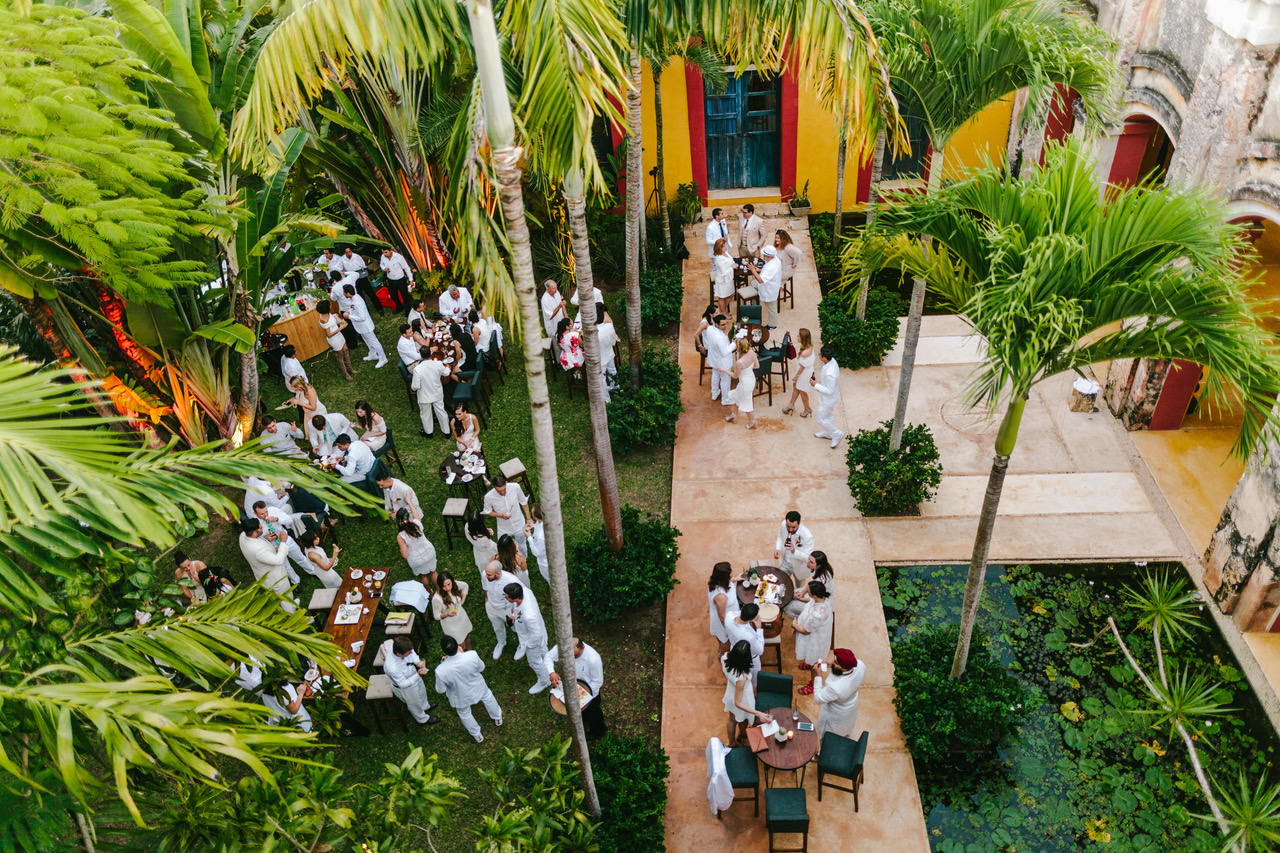 Hacienda Sac Chich Wedding Venue