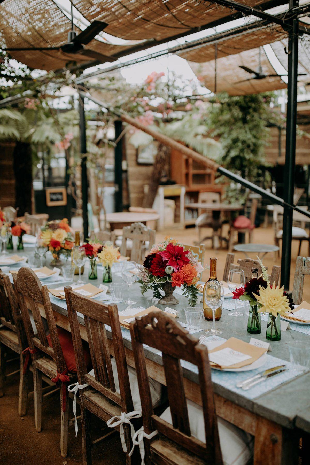 Petersham Nurseries Wedding Venue