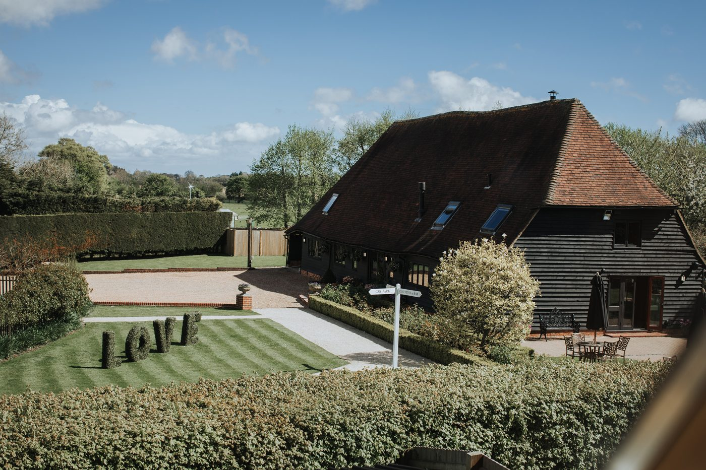 The Old Kent Barn Wedding Venue