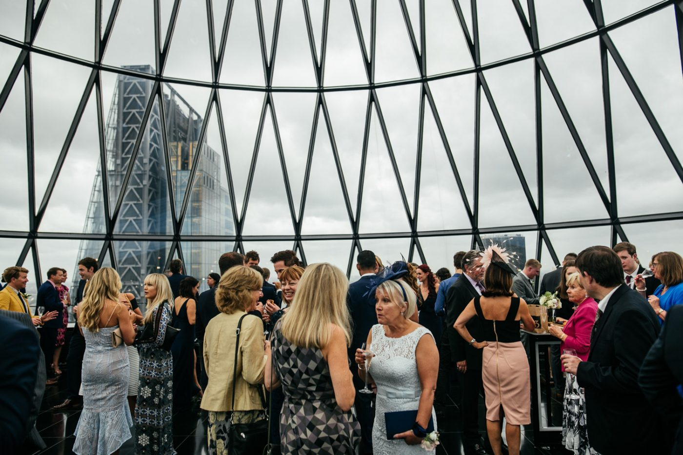 Searcys at The Gherkin Wedding Venue