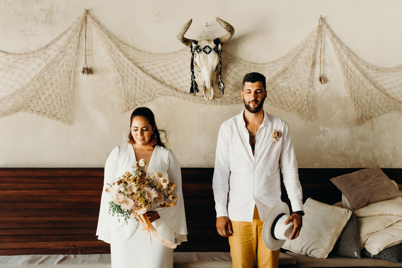 Daniela & Ehsy's Wedding at Mina Tulum