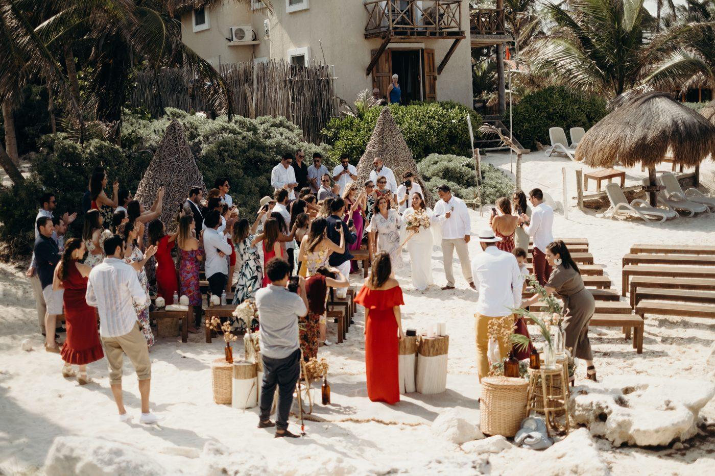 Wedding at Mina Tulum
