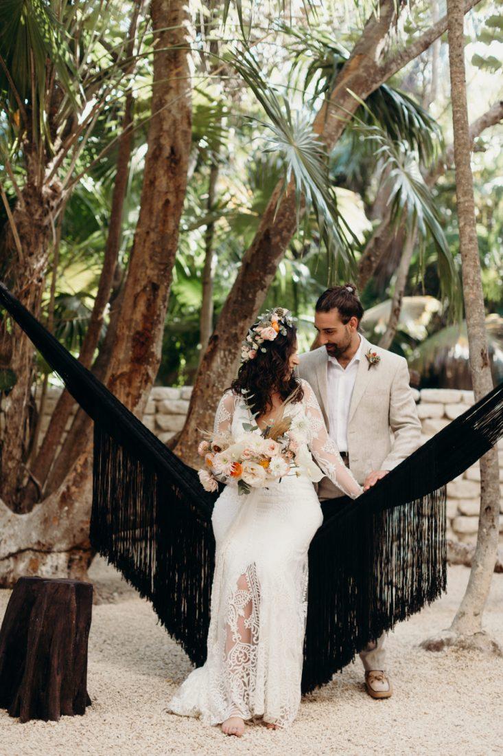Nest Tulum Real Wedding