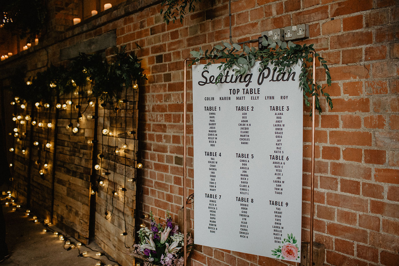 11 Unique Table Plan Ideas for Your Big Day