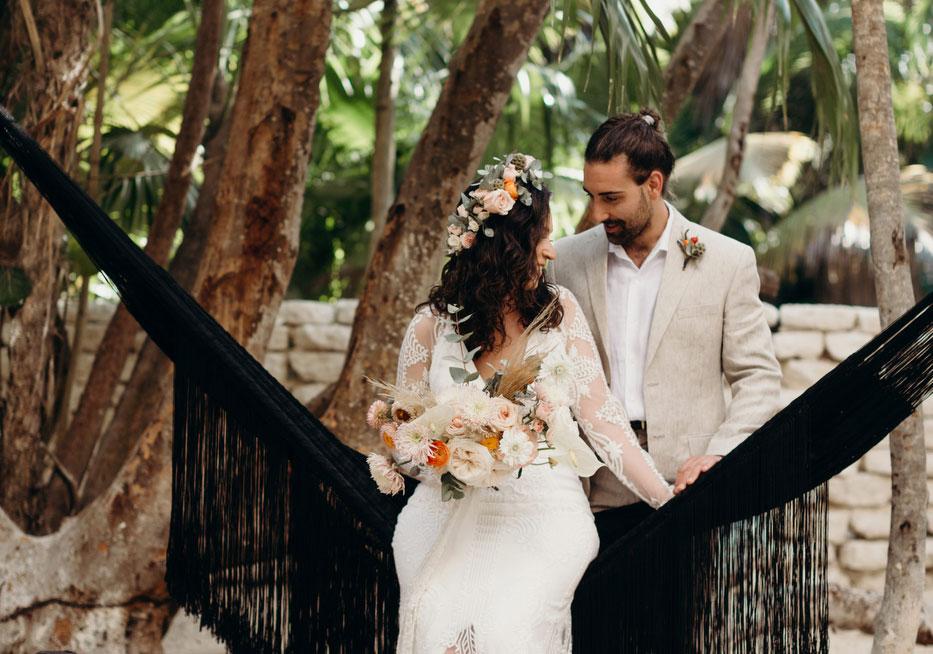 Nilly & Nikko's Wedding at Nest Tulum