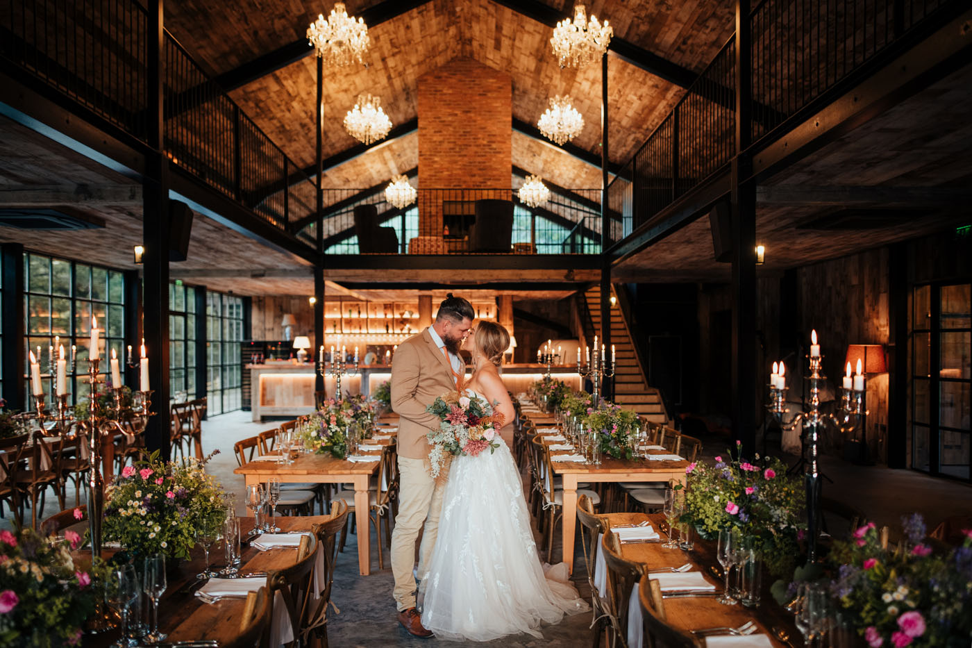 Hidden River Cabins Wedding Venue