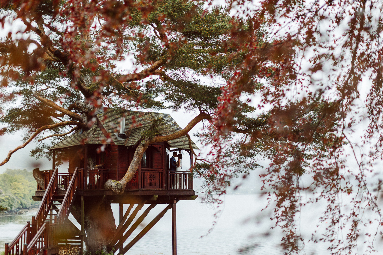 Magical Treehouse Wedding at Loch Goil