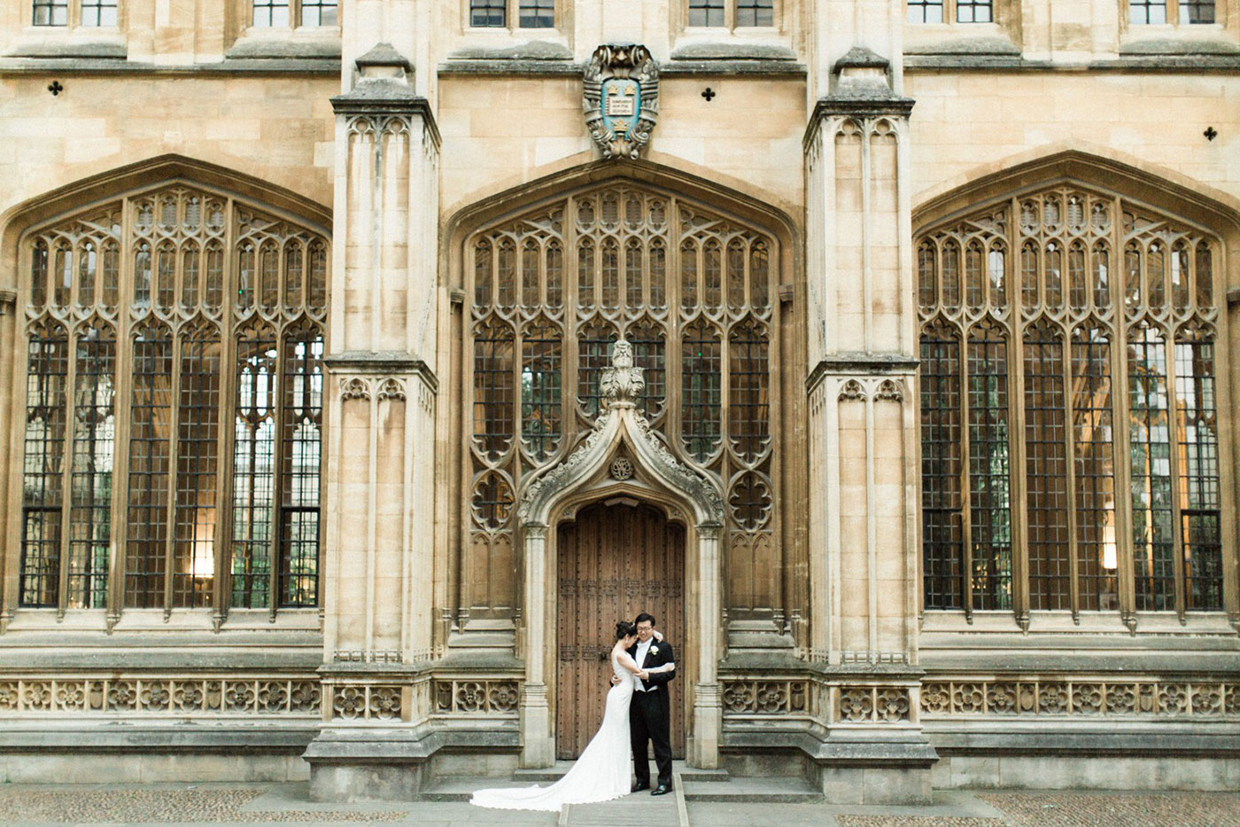 Romantic Bodleian Library Wedding