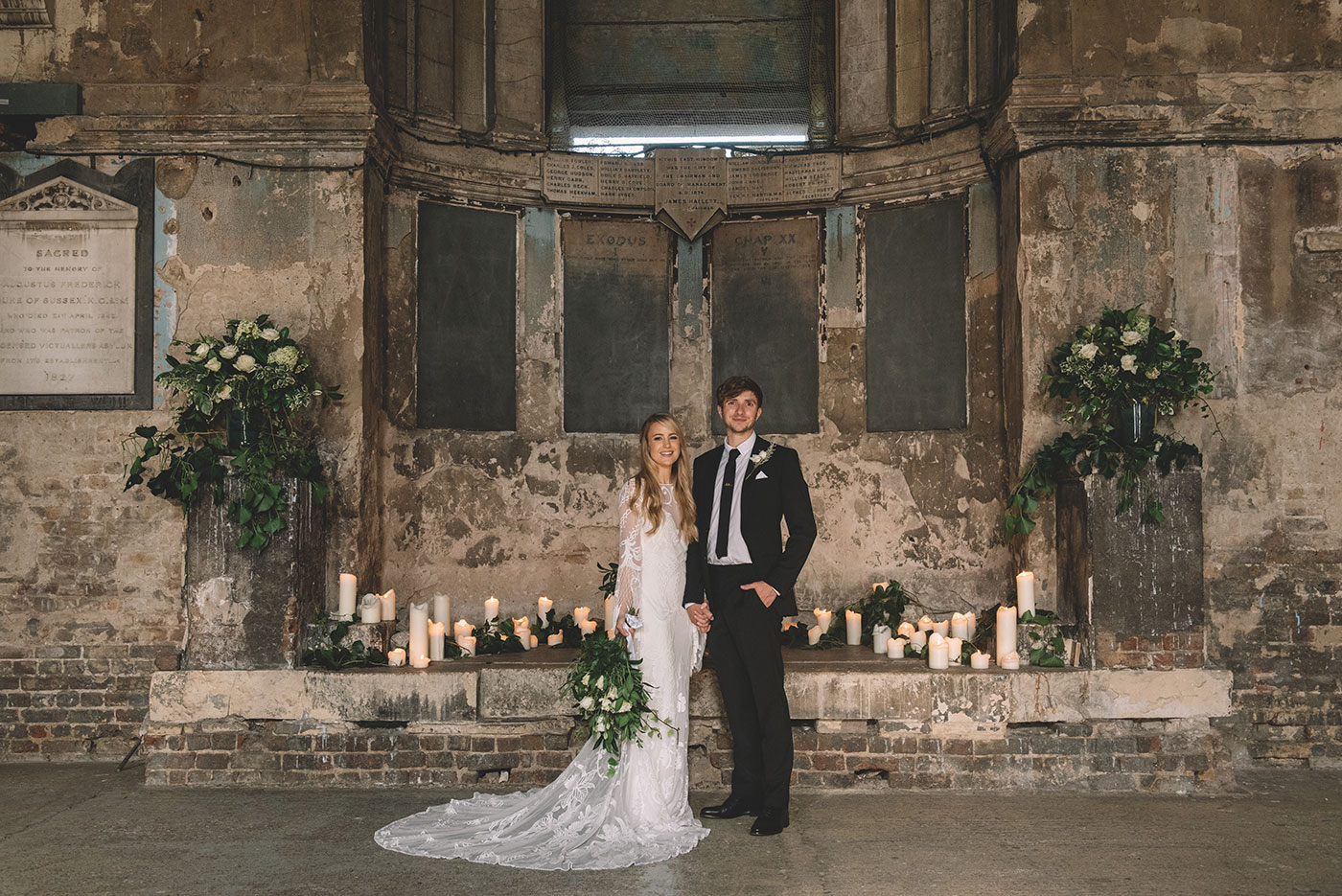 Asylum Chapel Peckham Wedding