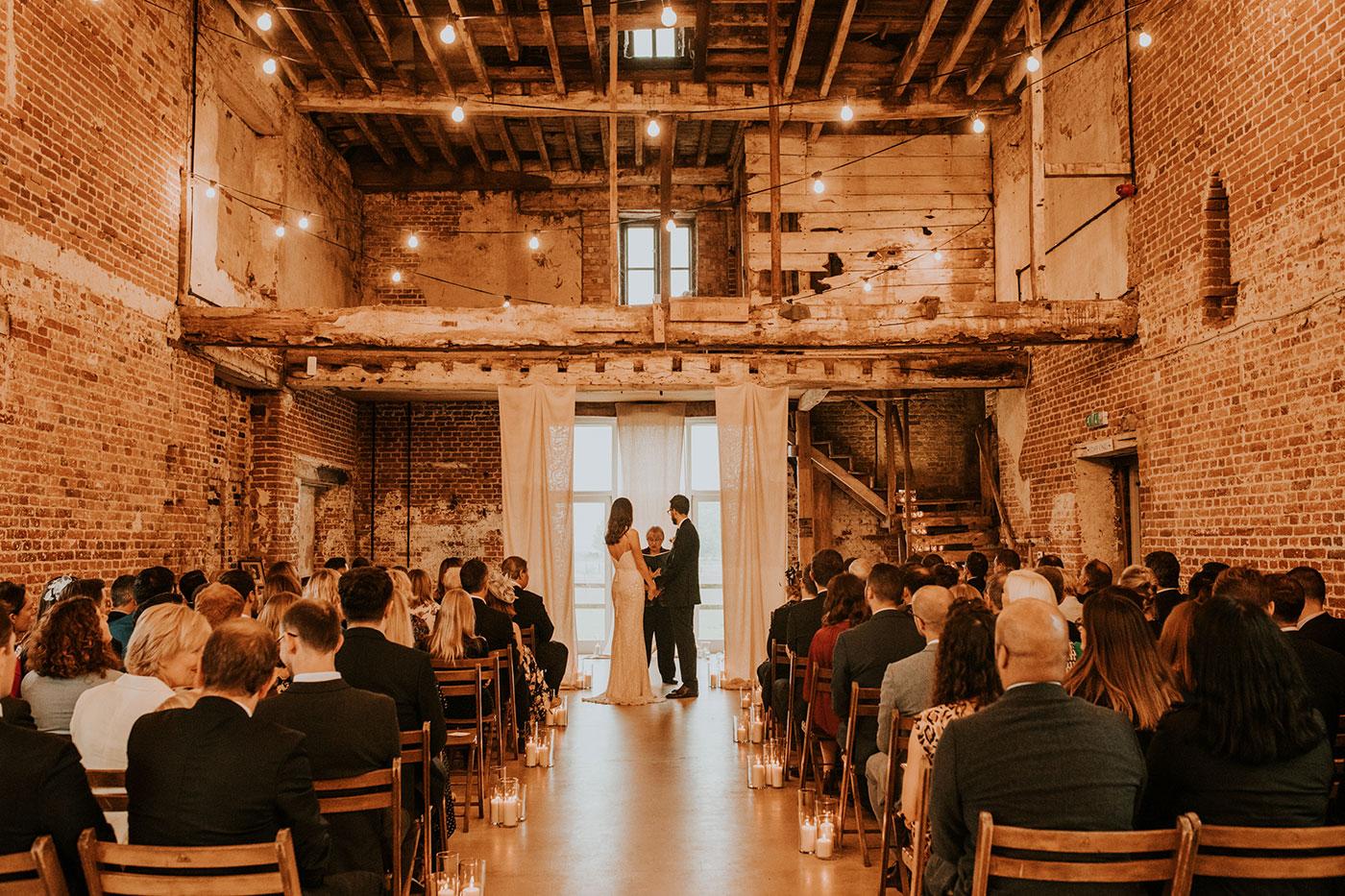 Will and Nat's Godwick Great Barn Wedding