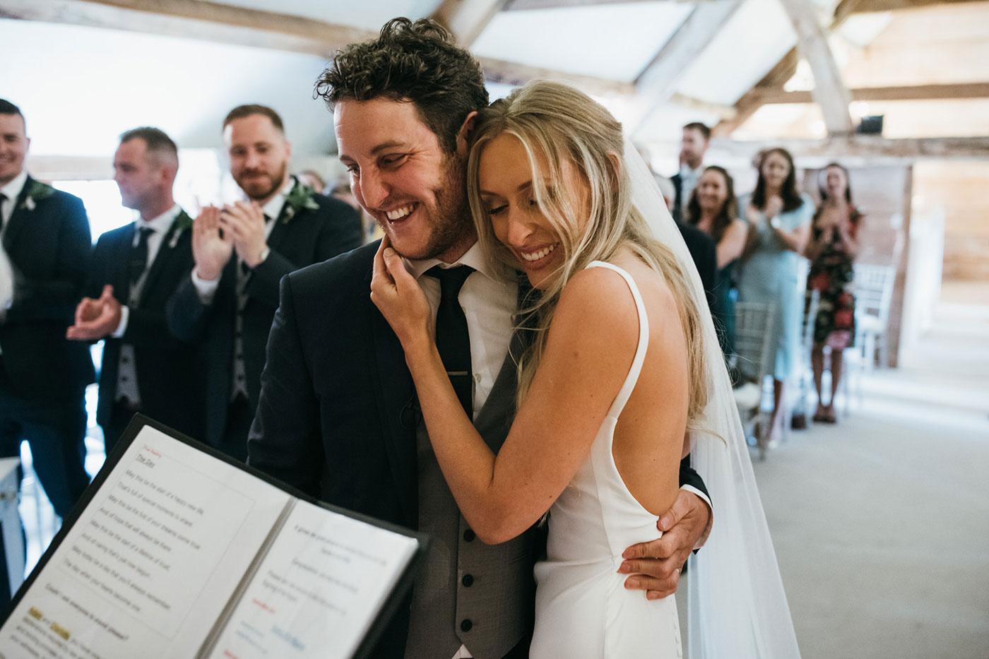 Charlotte & Adam's Almonry Barn Wedding