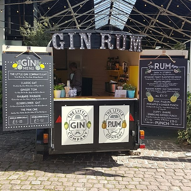 Mobile Gin bar from The Little Gin Company