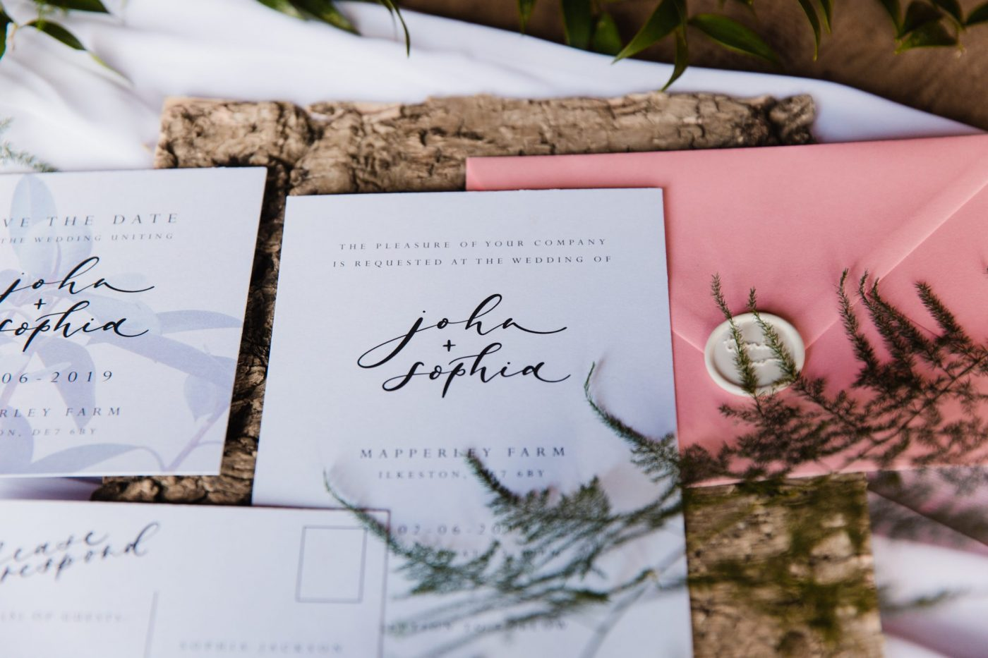 Your Guide to Essential Wedding Day Stationery