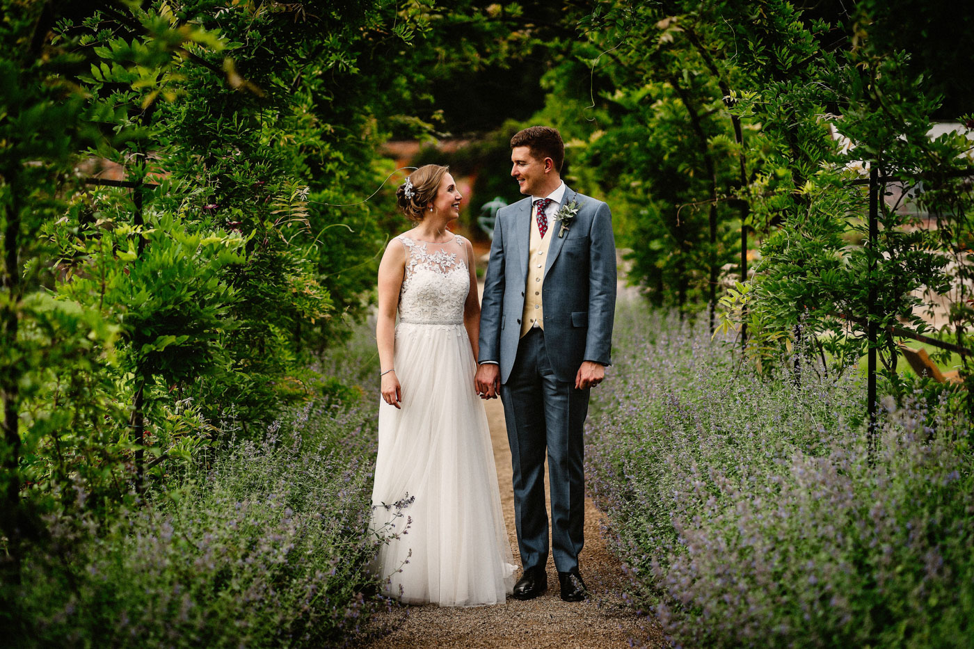 Claire & David's Thorpe Garden Wedding