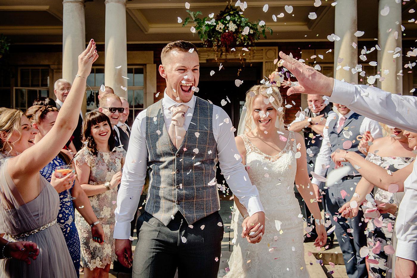 Leah & Brad's Eaves Hall Wedding