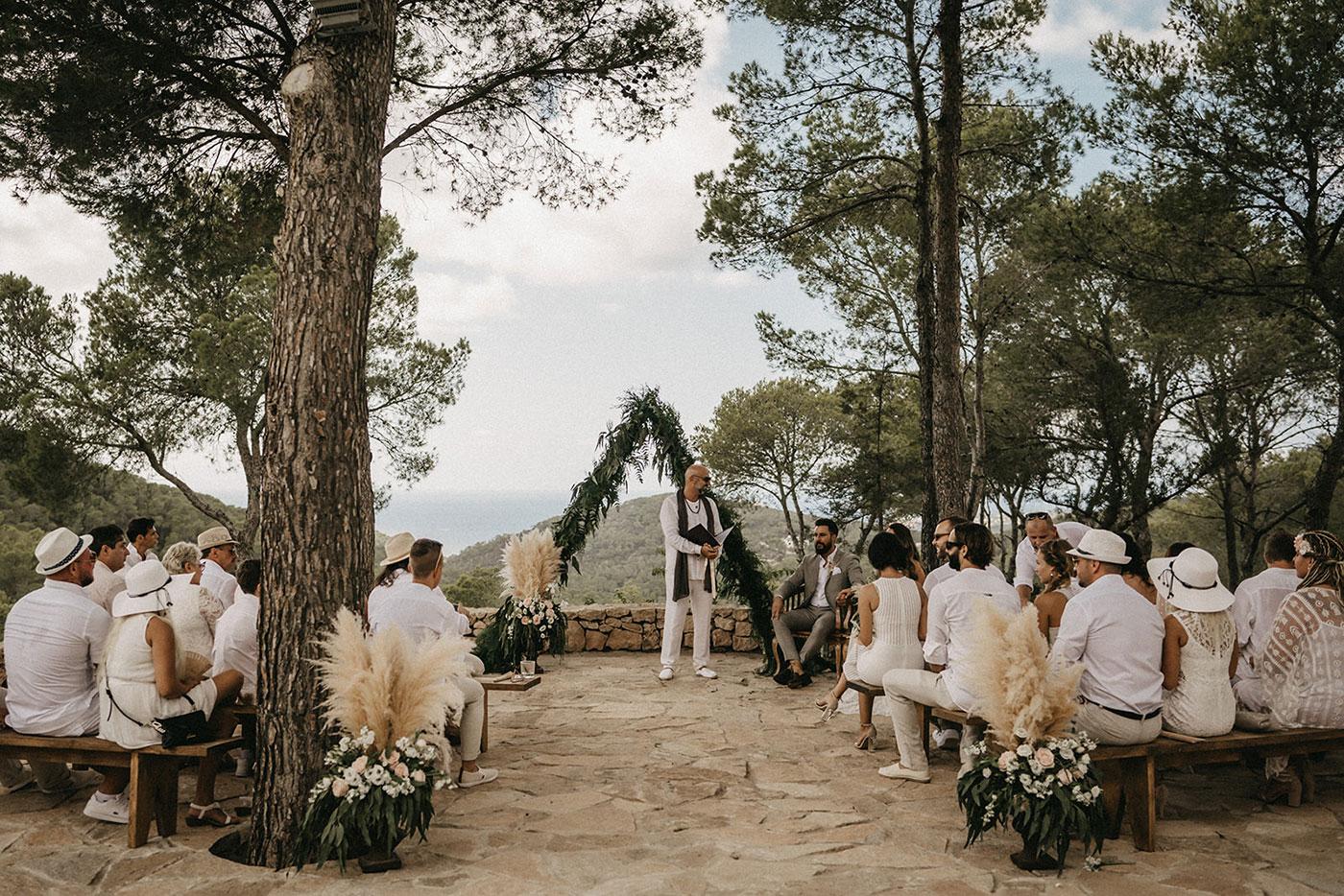 Païssa d'en Bernat Ibiza Wedding