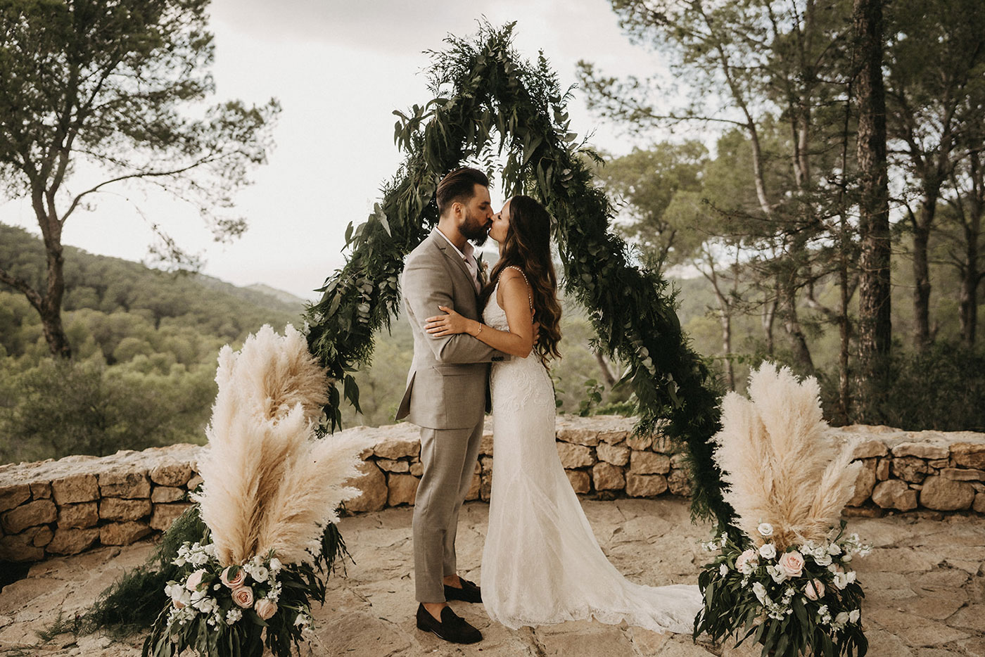 Samantha & Frank's Païssa d'en Bernat Wedding