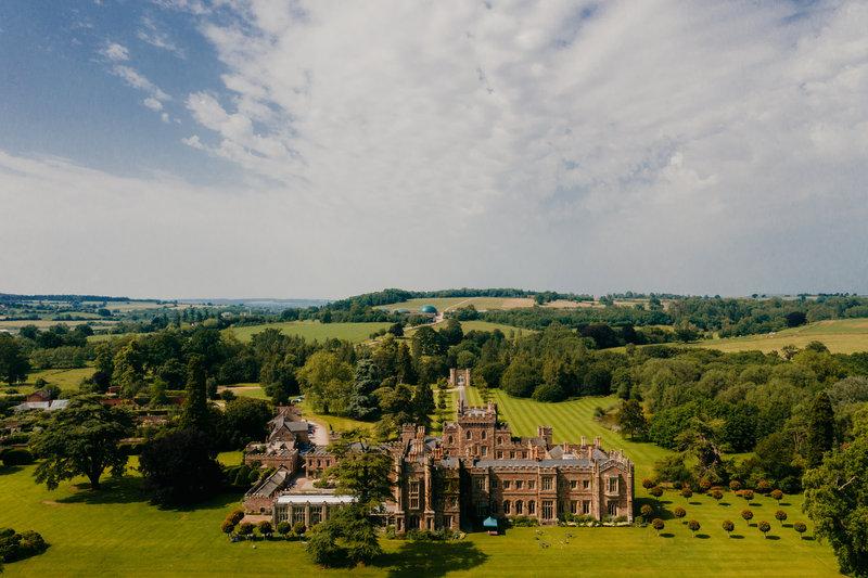 Hampton Court Castle Wedding Venue