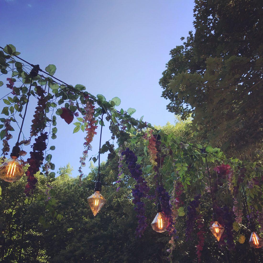 Outdoor Wedding Venue Lighting