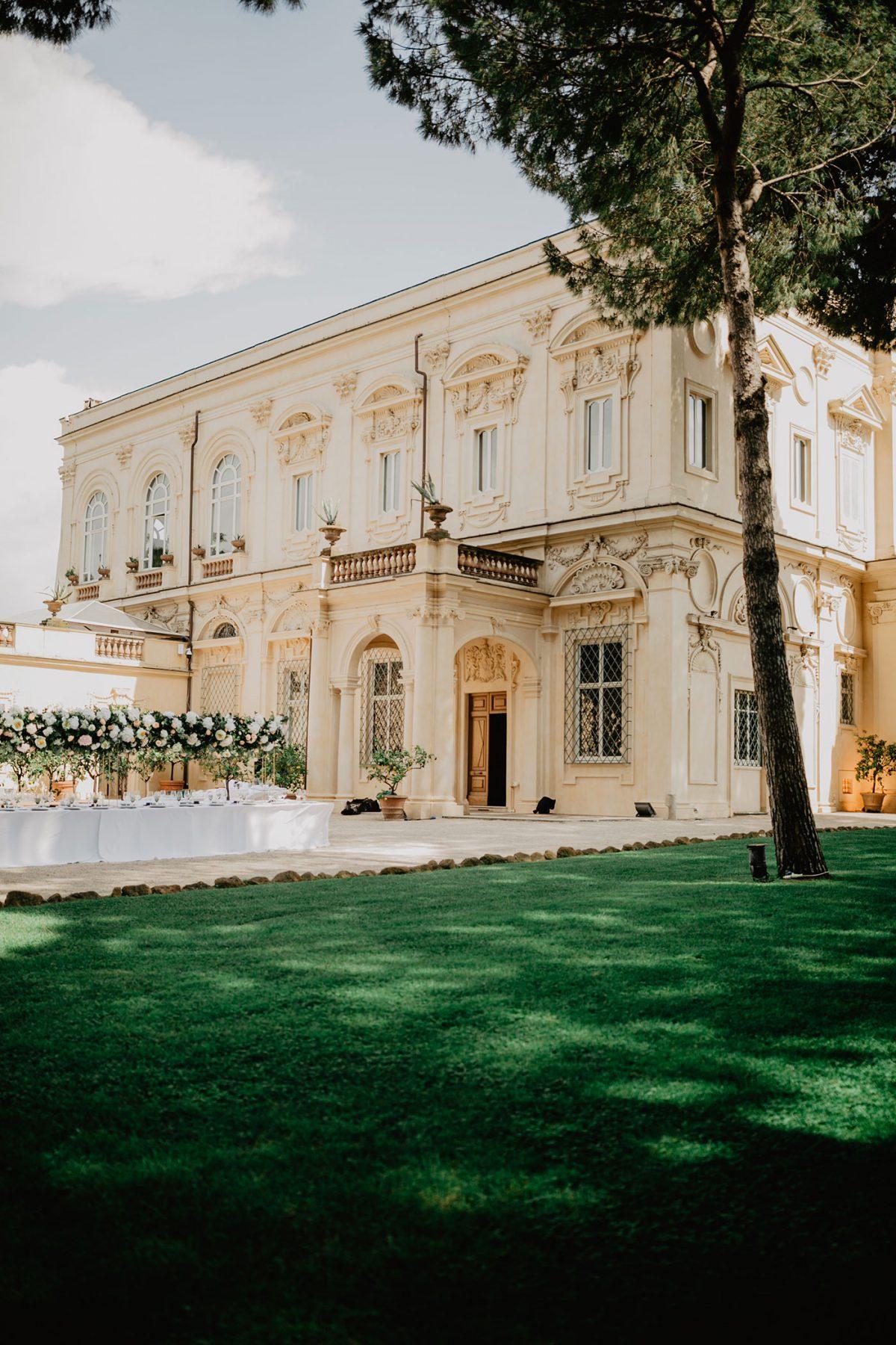 Villa Aurelia Wedding Venue