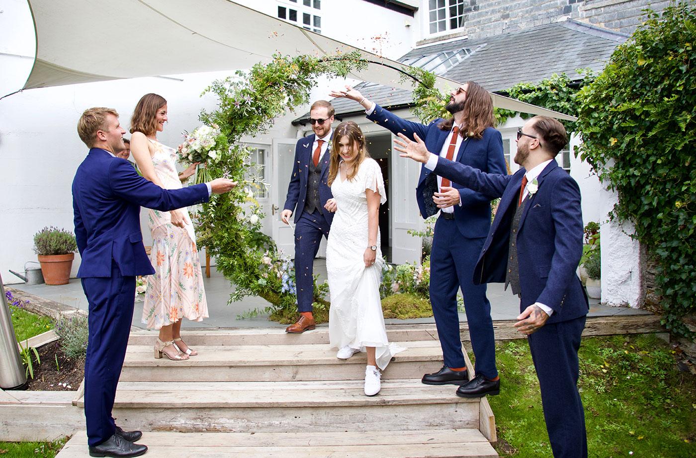 Treseren Wedding