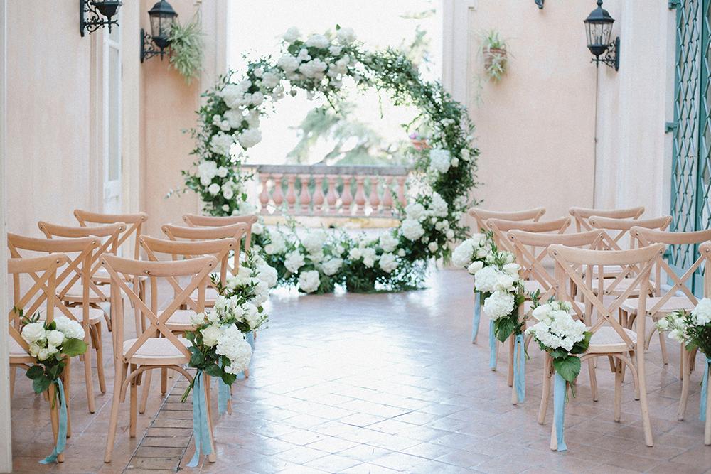 A Luxurious Winter Wedding at Villa Aurelia